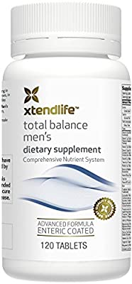 Xtend-Life Total Balance Men's Multivitamin / Multinutrient Supplement for Anti-Aging & General Health (120 Enteric Coated Tablets)