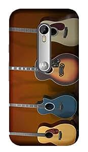 TrilMil Printed Designer Mobile Case Back Cover For Motorola Moto G Turbo