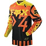 Fox Racing HC Anthem Youth Boys MotoX Motorcycle Jerseys - Orange / Small