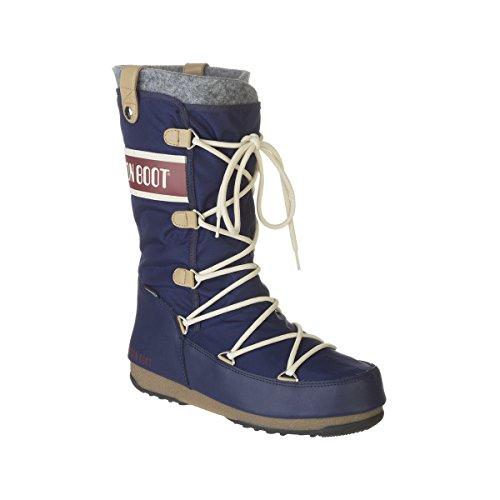 Tecnica Women's Monaco Moon Boot, Blue, 39 EU/8 M US (Tecnica Shoes compare prices)