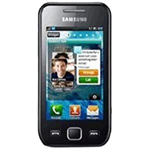 Samsung Wave 525 GT-S5253 (Metallic Black)
