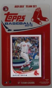 Buy 2013 Topps Team Edition Boston Red Sox Factory Sealed Baseball Cards Team Set (17 Cards) by Team Edition