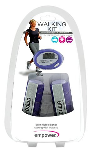 Cheap Empower Walking Kit with Pedometer, Purple (MP-3140R)