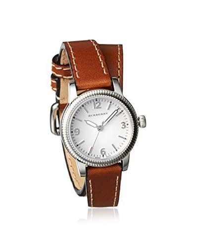 Burberry Women's BU7848 Utilitarian Brown/White Stainless Steel Watch