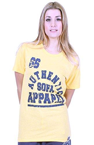 Università di qualsiasi donna Premium T shirt divano Divisione Yellow Medium