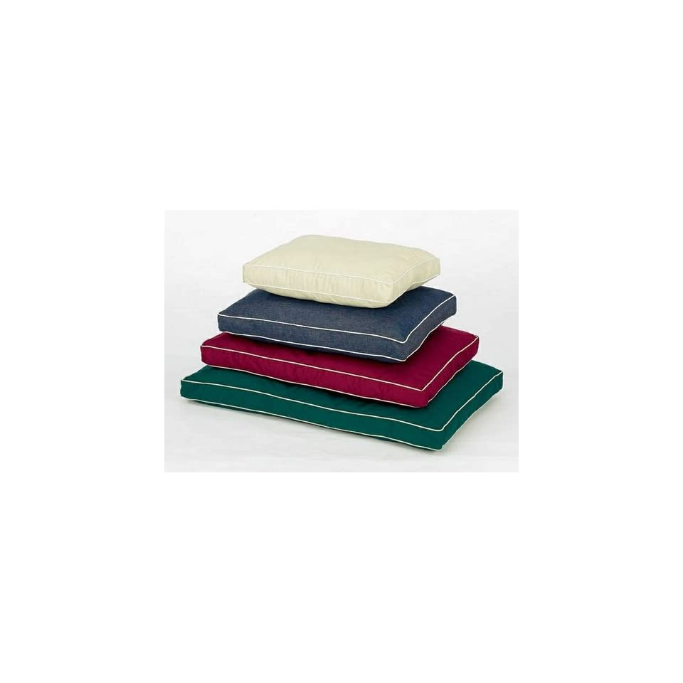 Pet Dreams Classic Ortho Dog Bed 42 Inch Burgundy Pet