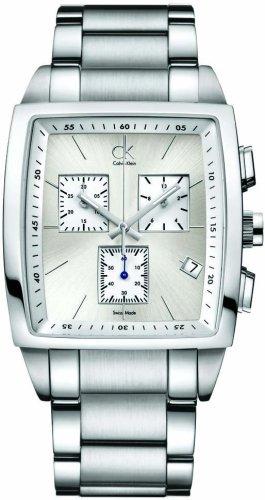 Calvin Klein Gents Watch Bold Square Chr.Ste, K3047126