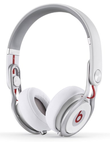 New Beats By Dr. Dre | Mixr Lightweight Dj On-Ear Headphones - White (900-00032-01)