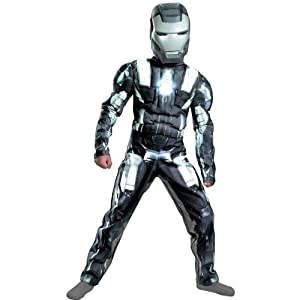 Muscle Chest War Machine Costume - Medium