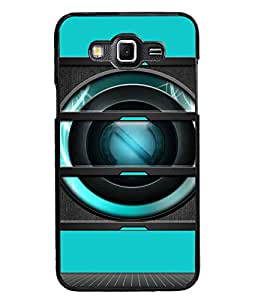 PrintDhaba Speaker D-3493 Back Case Cover for SAMSUNG GALAXY GRAND 3 (Multi-Coloured)