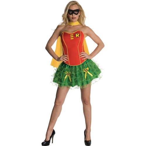 DC Comics Secret Wishes Robin Corset Adult Costume