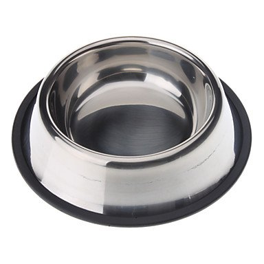 Zcl Stainless Steel Anti-Skidding Pet Food Bowl For Dogs Cats(Xs-Xxl) , Xs