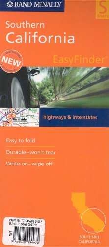 Rand McNally Southern California Easy to Fold (Laminated) (Rand McNally Easyfinder)