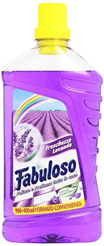 Fabuloso - Detergente per la Pulizia della casa, Profume di Lavanda - 1000 ml