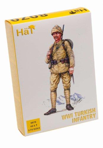 Hat Figures - WWI Ottomans / Turkish Infantry - HAT8070