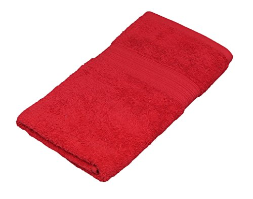 Cotton Large Hand Towel, Gym Towel, Bath Towel, %100 Cotton, 20 x 35, Soft and Super Absorbent (Tomato) (Red Hand Towels compare prices)