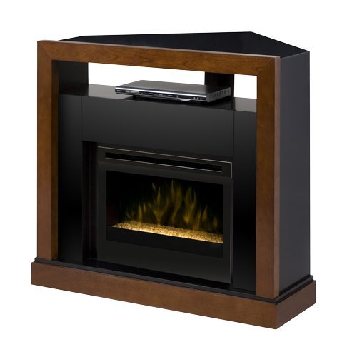 Dimplex Tanner Electric Fireplace Media Center w/ Glass Embers - GDS25G-5309WN picture B00EW72OWO.jpg