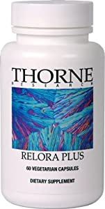 THORNE RESEARCH - Relora Plus 60 Count [Health and Beauty]