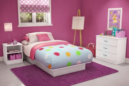Kids Bedroom Furniture Set in Pure White - South Shore Furniture