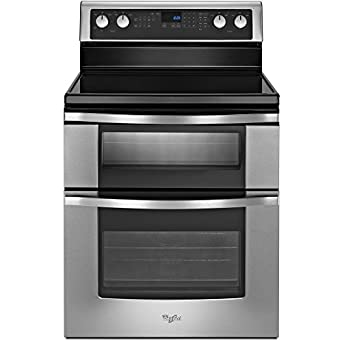 Whirlpool WGE555S0BS 30 Stainless Steel Electric Smoothtop