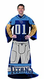 NFL Tennessee Titans Full Body Player Comfy Throw by Northwest