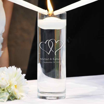 Concepts Love Collection Two Hearts Unity Candle