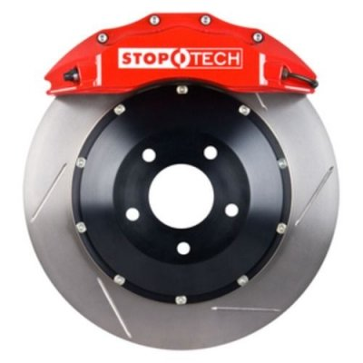 StopTech 83.192.6700.71 Performance Big Brake Kit w/Red Caliper/Slotted Disc- Front