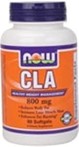 CLA 1000 Mg (800mg of CLA) Now Foods 90 Softgel