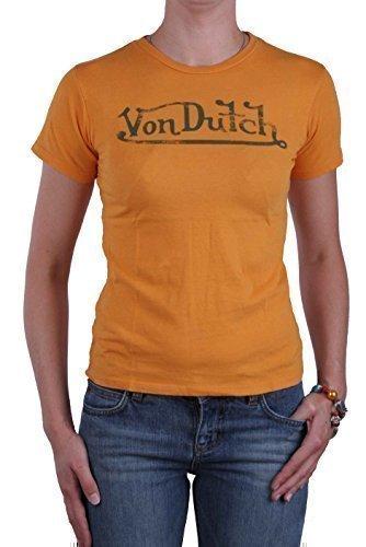 von-dutch-donna-maglietta-molti-colori-e-misure-arancione-s