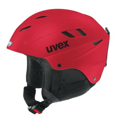 UVEX Kinder Skihelm x-ride junior, red, XXS - S  (51-55 cm), 5660783303