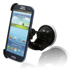 CrazyOnDigital In Car Holder Mount Cradle for AT&T, T-Mobile, Sprint, Verizon Samsung Galaxy S III by CrazyOnDigital