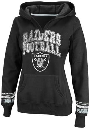 NFL Ladies Oakland Raiders Preseason Favorite II Black Sport Gray Long Sleeve... by VF LSG