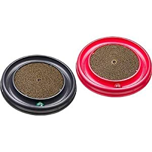 "Bergan Star Chaser Turbo Scratcher Cat Toy, 15.5"" Diameter"