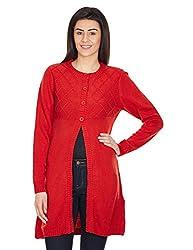 Aurelia Women's Sweater (15AUK80025-01338_Red_S)