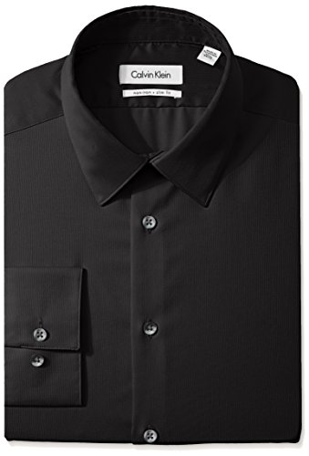 Calvin-Klein-Mens-Non-Iron-Slim-Fit-Solid-Dress-Shirt