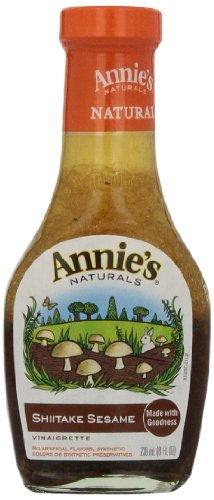 Annies Homegrown Shiitake & Sesame Vinaigrette, 8 Ounce