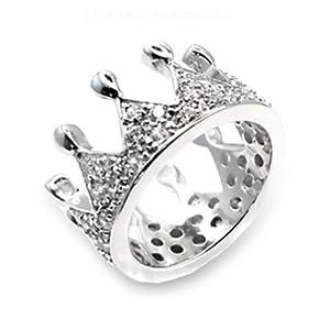 amazon pandora princess tiara ring