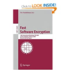 Fast Software Encryption: 16th International Workshop, FSE 2009