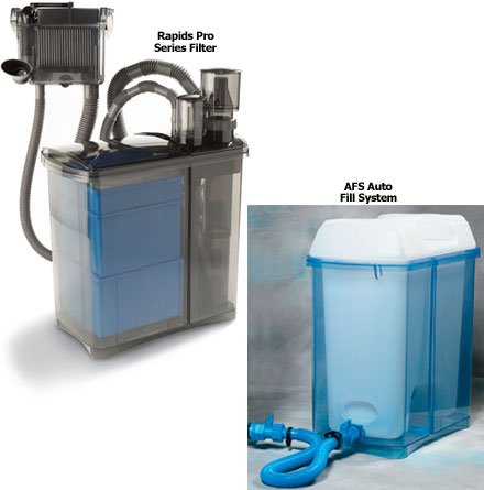 TOM Aquarium RP3 Plus (Rapids Pro Filter with Auto Fill System, 700gph pump)