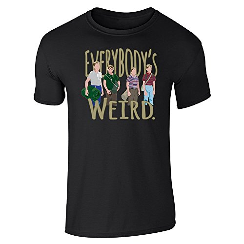 Pop Threads -  T-shirt - Uomo Nero  nero