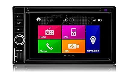 dynavin N6-6205universel 2/Cache/Navigation multimédia double DIN/Bluetooth/iPod Tête Voiture Unité