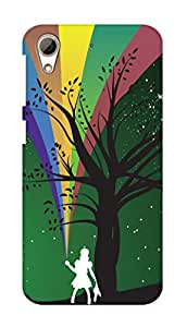 SWAG my CASE PRINTED BACK COVER FOR HTC DESIRE 626 Multicolor