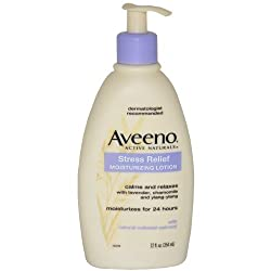 Aveeno Active Naturals Stress Relief Moisturizing Lotion, 12 Ounce