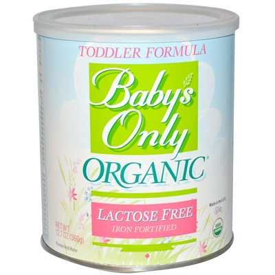 Babys Only Organic Lactose Free Toddler Formula, 12.7 Ounce -- 6 per case.