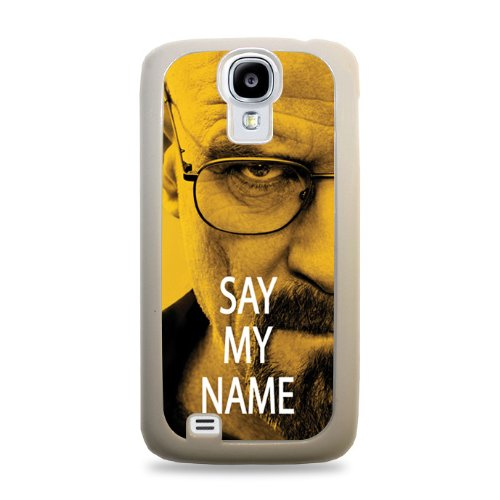 698 Walter White Say My Name Samsung Galaxy S4 Hardshell Case - White front-239798