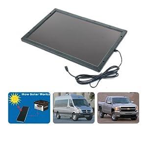 Topray Solar Solar Powered 12V 6W Battery Charger by Shenzhen Topray Solar Co., Ltd