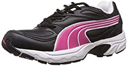 Puma Womens Axis XT II Wn s Ind. Black, Fuchsia Purple and White Running Shoes - 3 UK/India (35.5 EU)