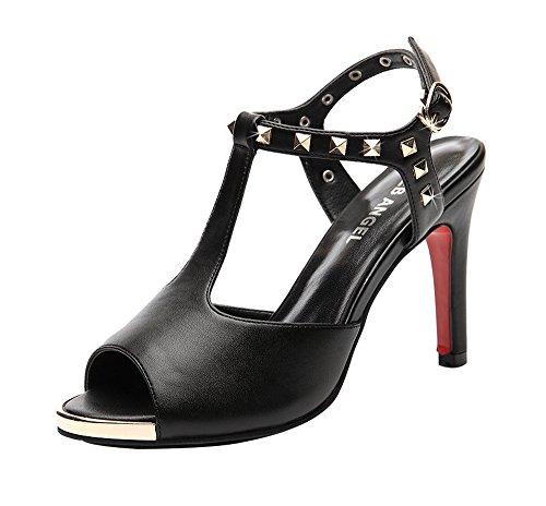 fq-real-womens-sexy-rivets-studded-peep-toe-t-strap-high-heel-pumps-sandals-55-ukblack