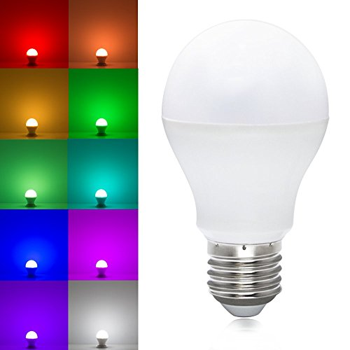 Ac86V-264V 6W Rgb+White Led Smart Bulb - 120 Degree Beam Angle Rgbw Led Smart Light Bulb - Compatible With Rgbw Controller & Wifi Led Controller
