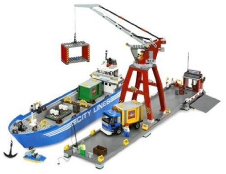 LEGO ( LEGO ) R City Harbor block toys ( parallel imports )